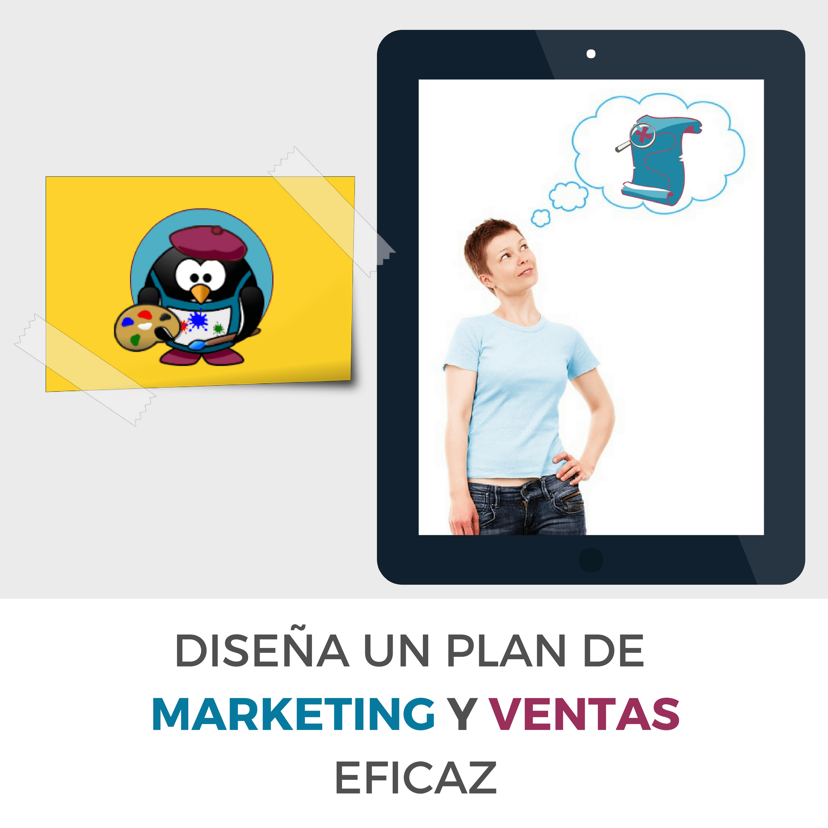 Diseña un plan de marketing y ventas estratégico